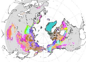 dove si trova il permafrost
