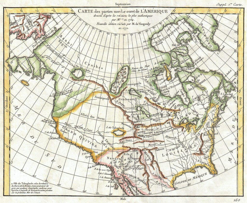 mappa di Vaugondy-Diderot