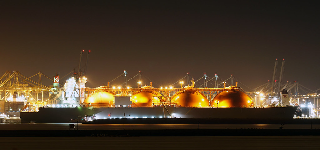 LNG tanker arctic voyager