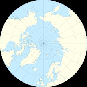circolo polare artico cartina