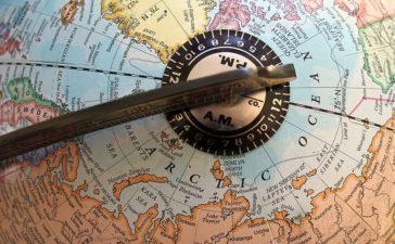 mappamondo artico