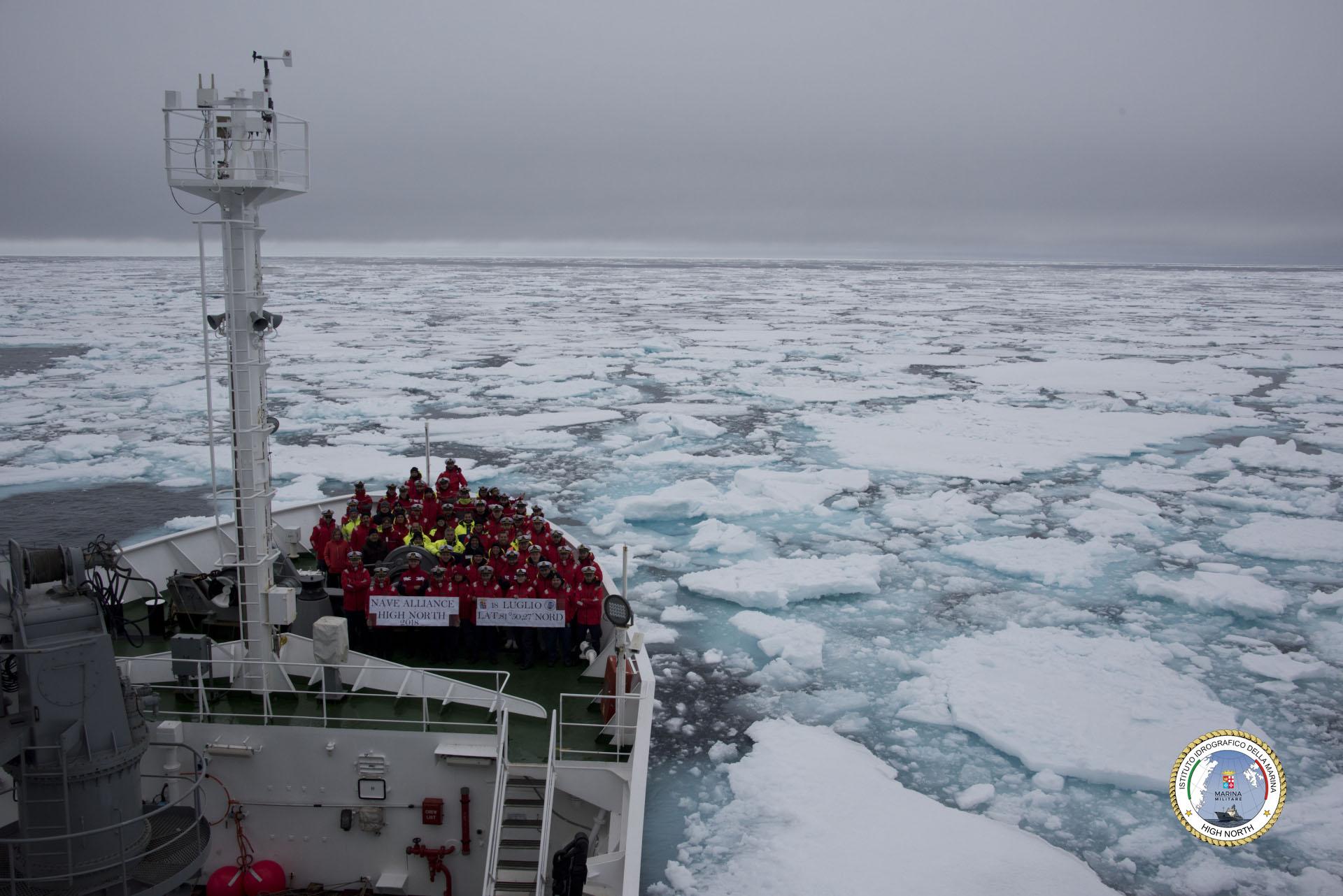 nave alliance ghiacci