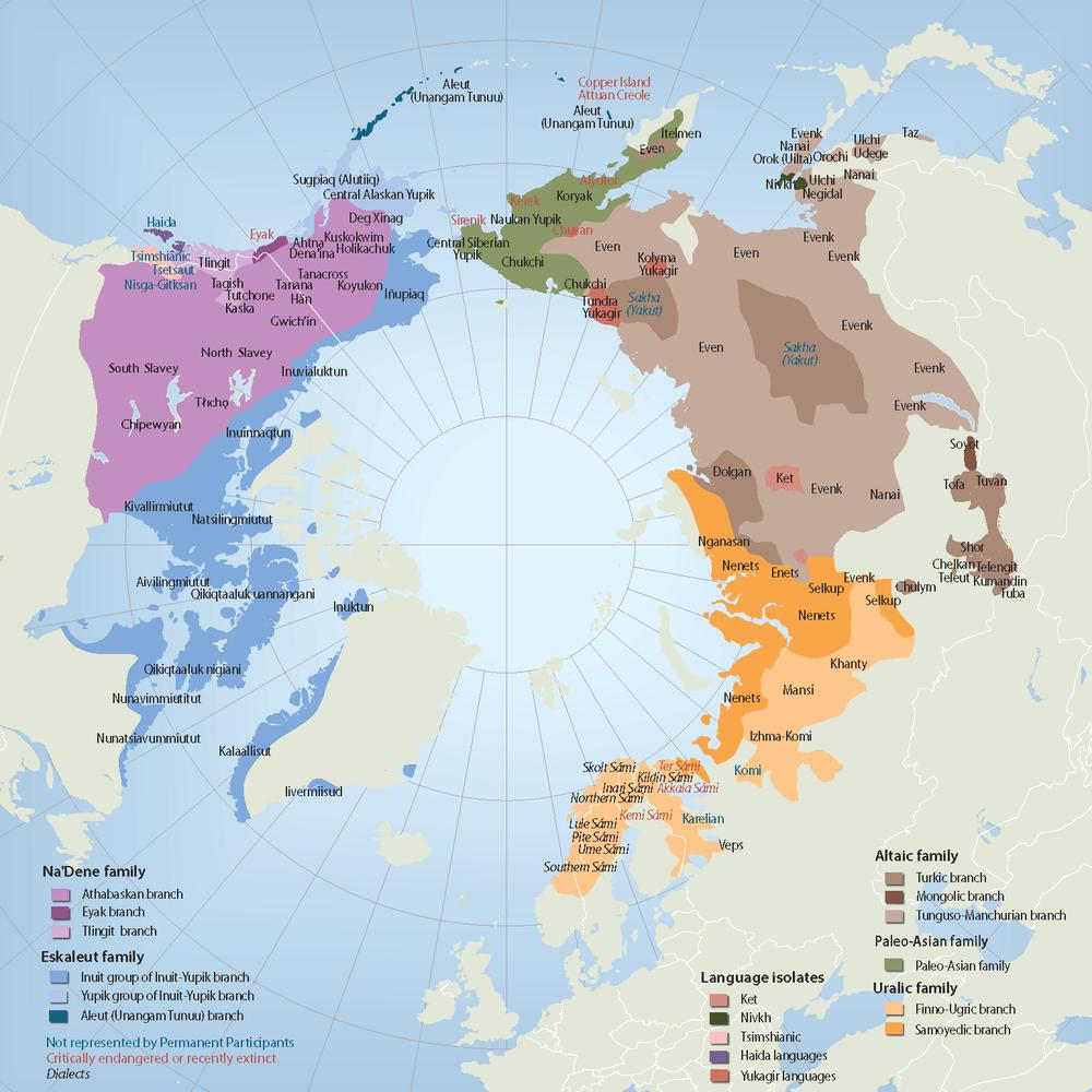 arctic languages