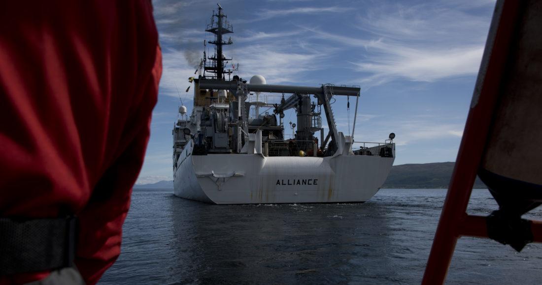 nave alliance navigazione