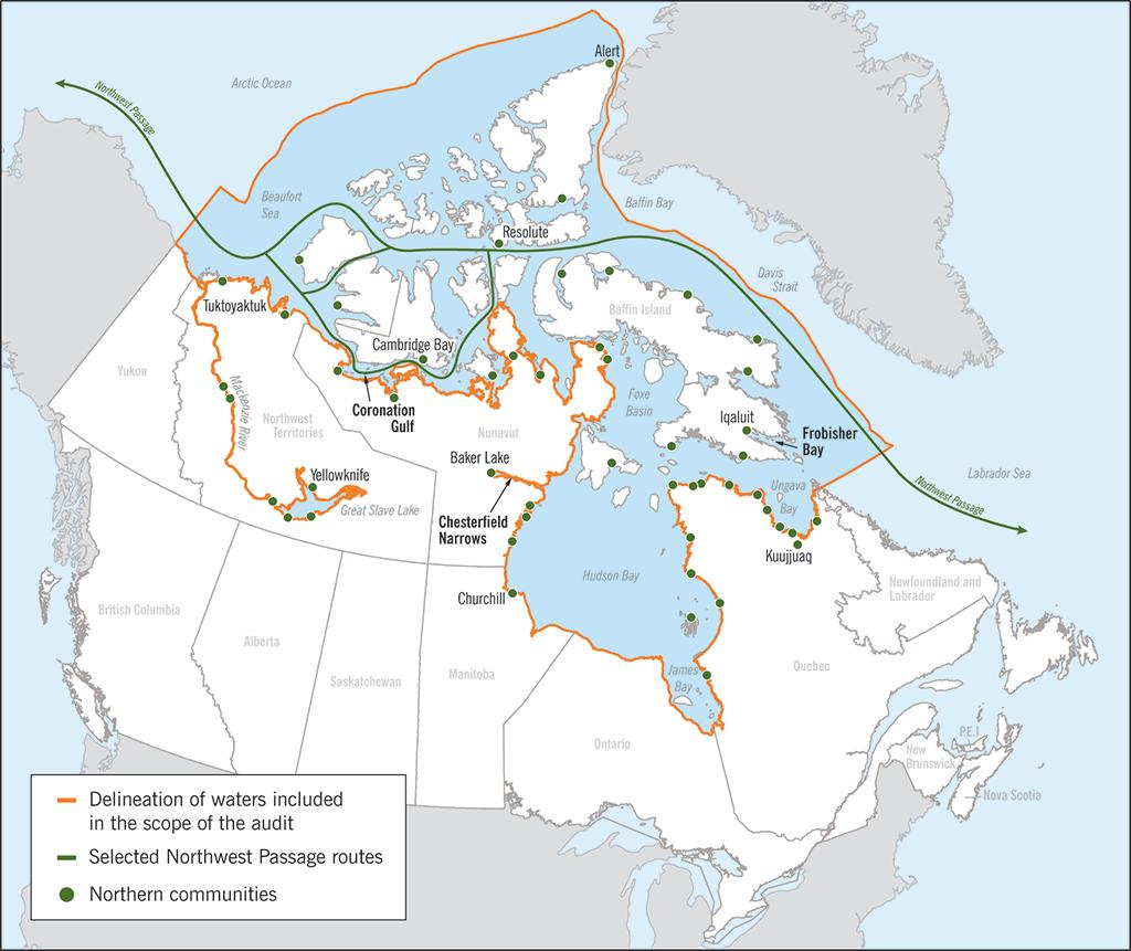 acque territoriali canada