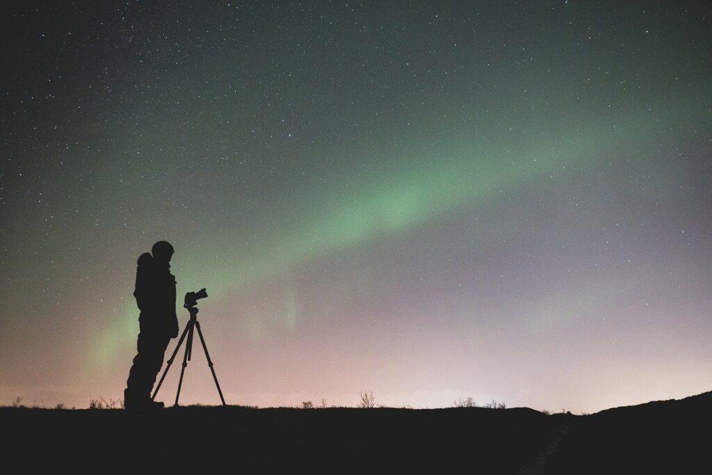 fotografo aurora boreale