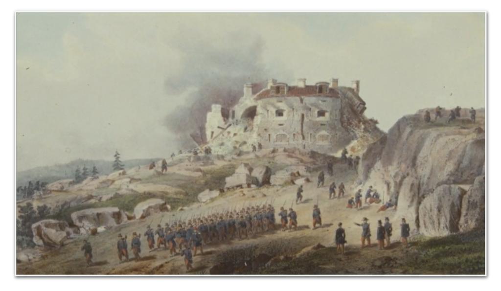 La fortezza di Bomarsund