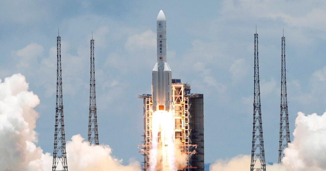 Cina spazio satelliti