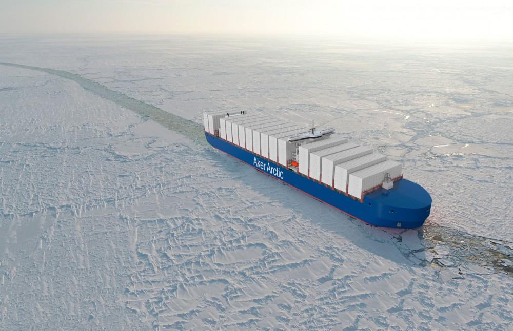 aker arctic container