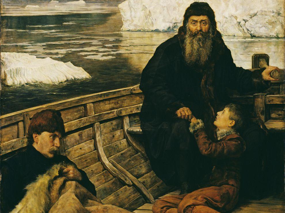 Last voyage of Henry Hudson (John Collier, 1881)