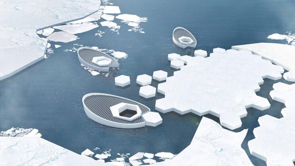 Il progetto di Ice-Making del designer Kotahatuhaha