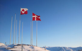 groenlandia bandiera