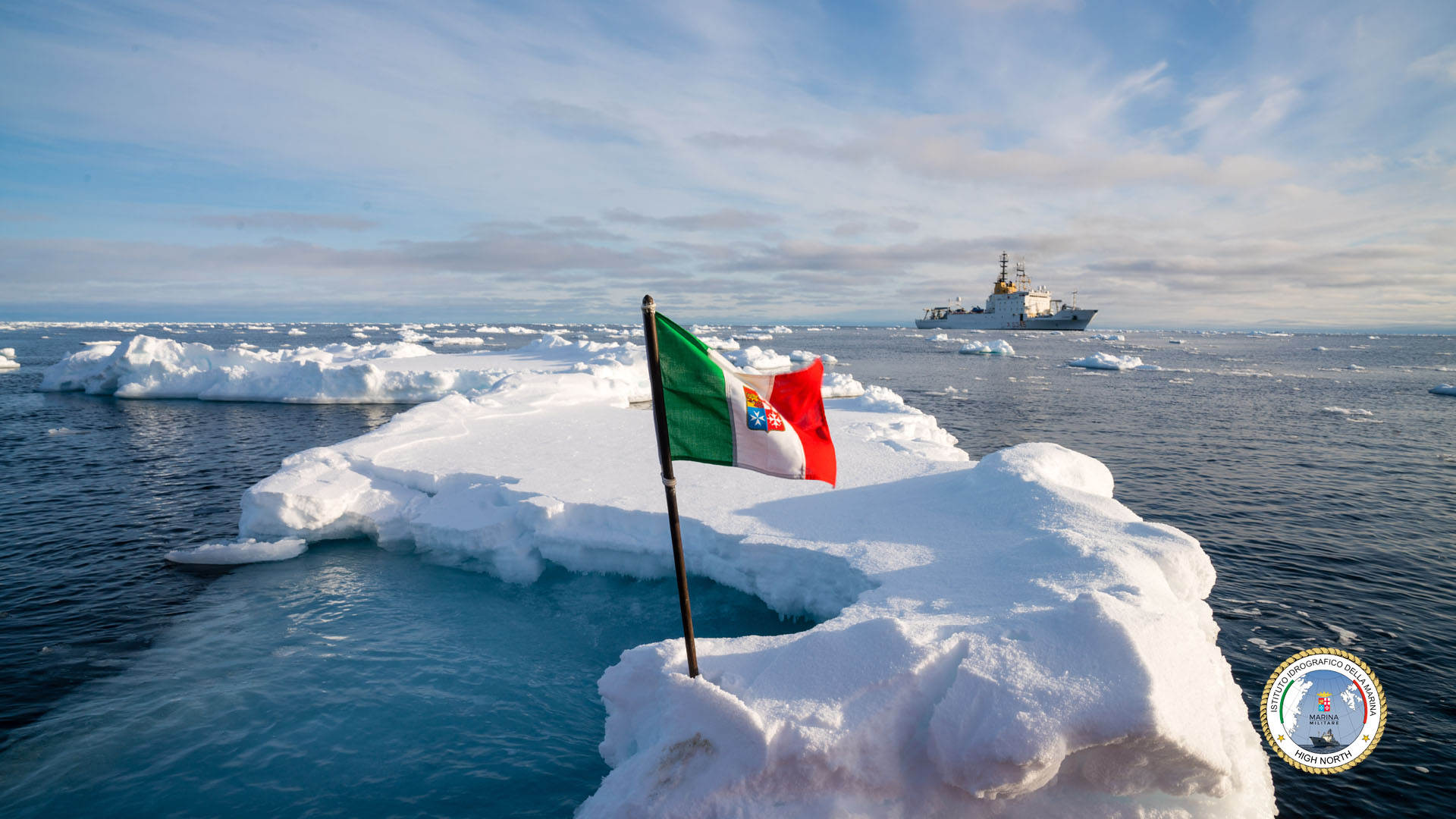 Nave Alliance in Artico