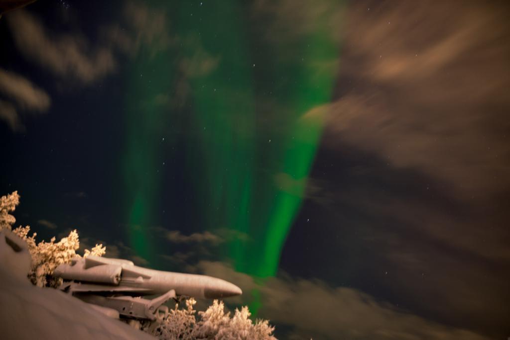 murmansk aurora boreale