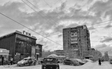 murmansk neve inverno