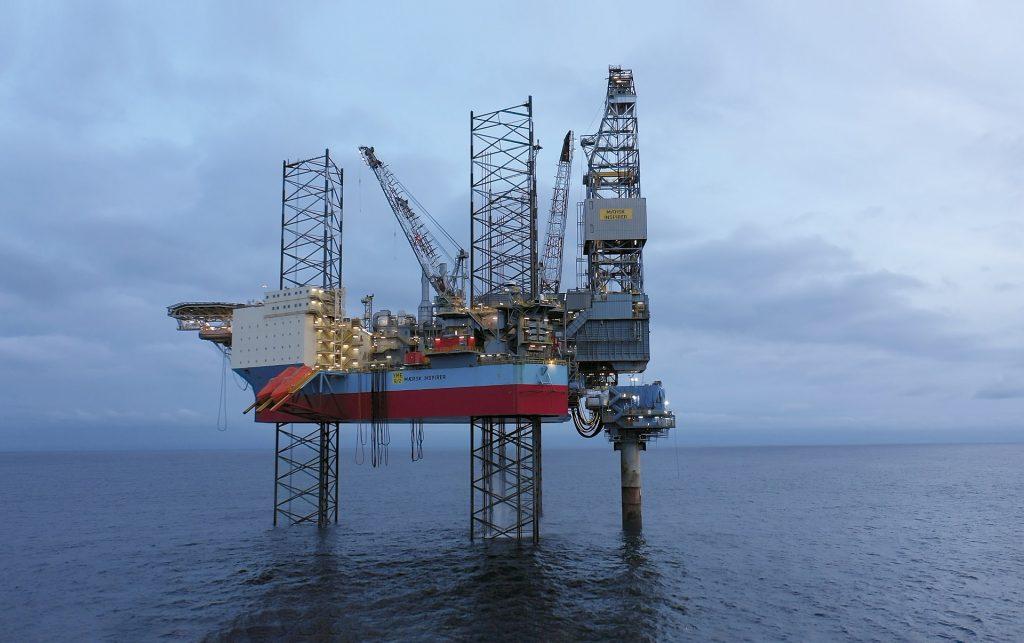 Pozzo Yme nel Mar del Nord