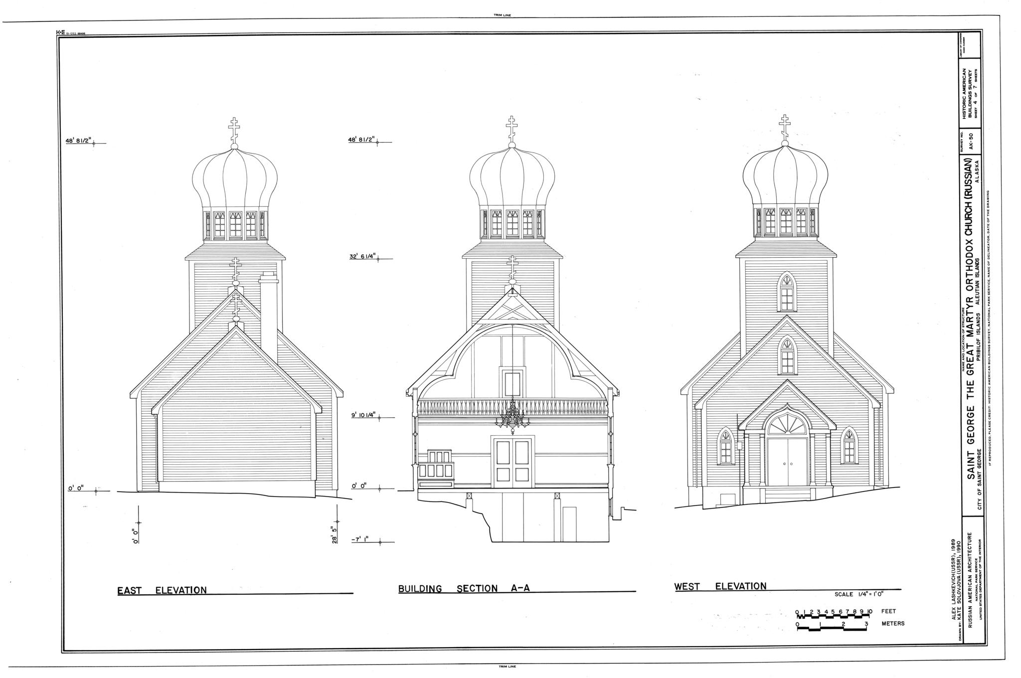 Saint George Russian Orthodox Church, St. George Island, Pribilof Islands